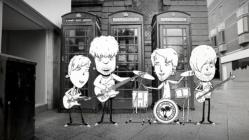 viola beach cartoon