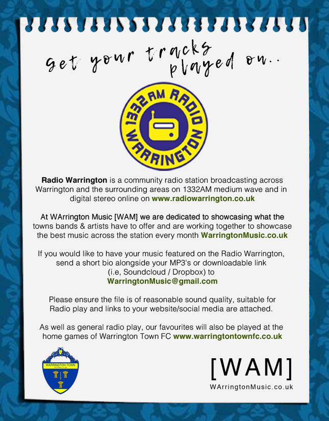 Radio Warrington advert