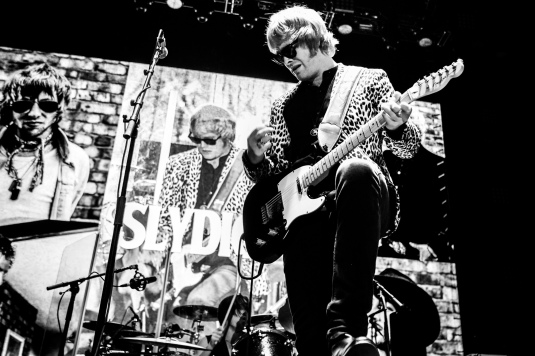 Slydigs, supporting the Who on their arena tour in 2016