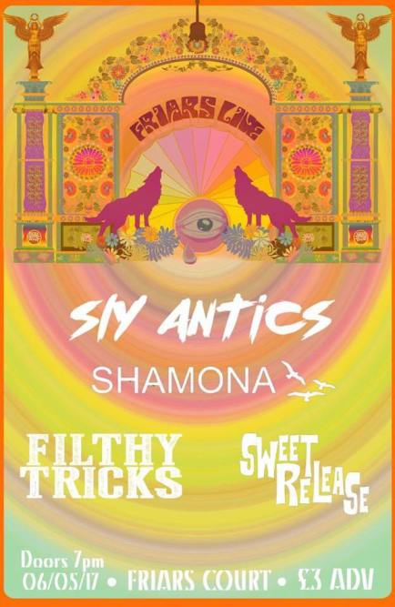 Friars Live Shamona Sly Antics Filthy Tricks Sweet Release