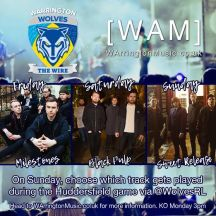 Warrington Wolves Milestones Black Pulp Sweet Release