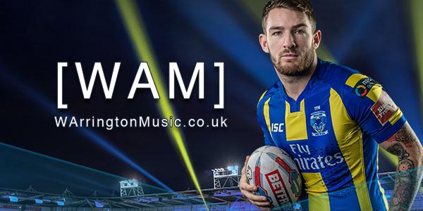 Warrington Wolves and WarringtonMusic.co.uk