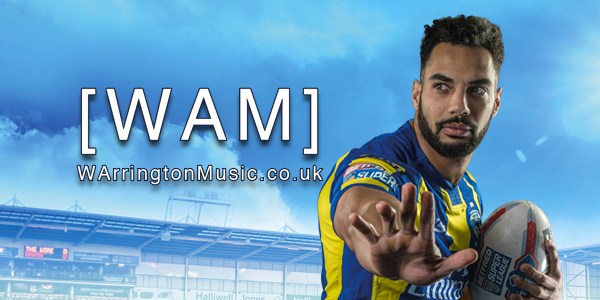 Warrington Wolves Music WAM Ryan Atkins