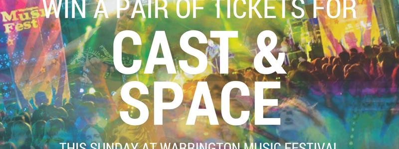 Cast & Space Competition Warrington Music Festival
