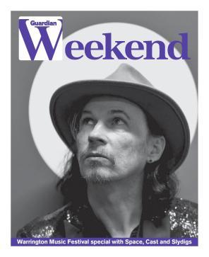 Warrington Guardian Weekend Cover Space