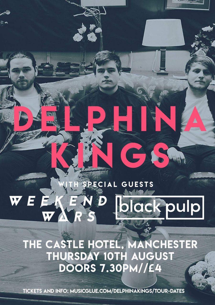 Delphina Kings Weekend Wars Black Pulp