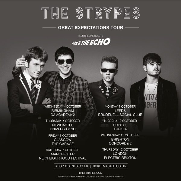 Man and the echo strypes october tour