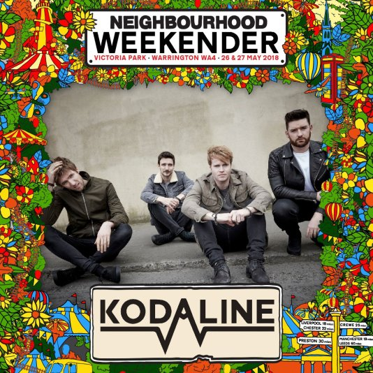 Kodaline at Neighbourhood Weekender