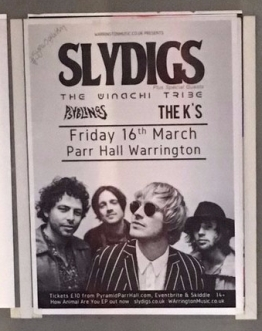 Slydigs Warrington Nwtwork