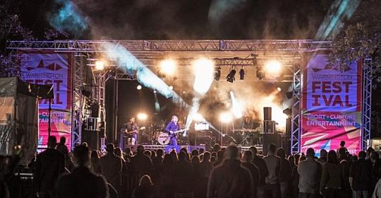 Starsailor at Warrington Festival