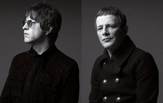 Chris Sharrock and Gem Archer Noel Gallagher's High Flying Birds
