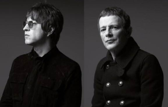 Chris Sharrock and Gem Archer Noel Gallagher's High Flying Birds