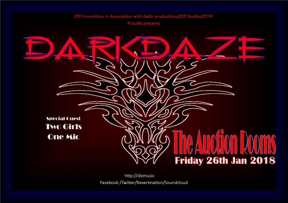Darkdaze Flyer