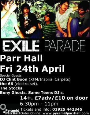 Exile Parade Parr Hall