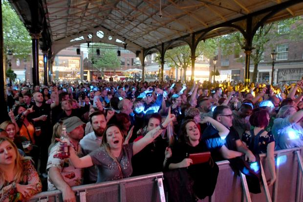 Warrington Music Festival Crowd 2017