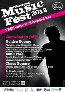 2012 Warrington Music Festival