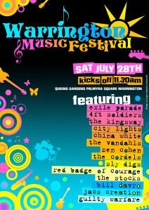 Warrington Music Festival 2007