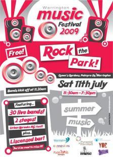 Warrington Music Festival 2009