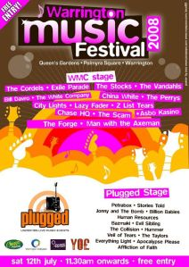 2012 Warrington Music Festival