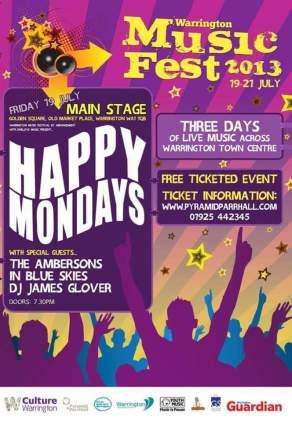 2013 Warrington Music Festival