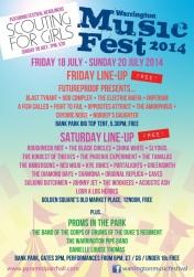 Warrington Music Festival 2014