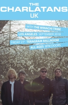 The Charlatans The Winachi Tribe Warrington Los Angeles TERAGRAM Ballroom