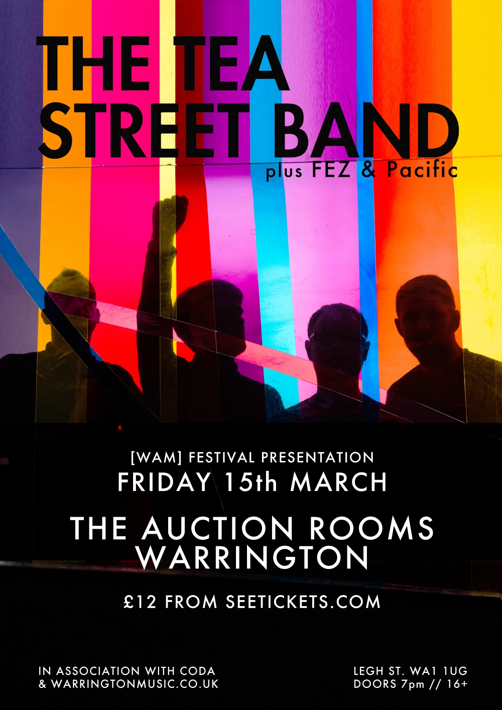 The Tea Street Band Warrington Fez Pacific