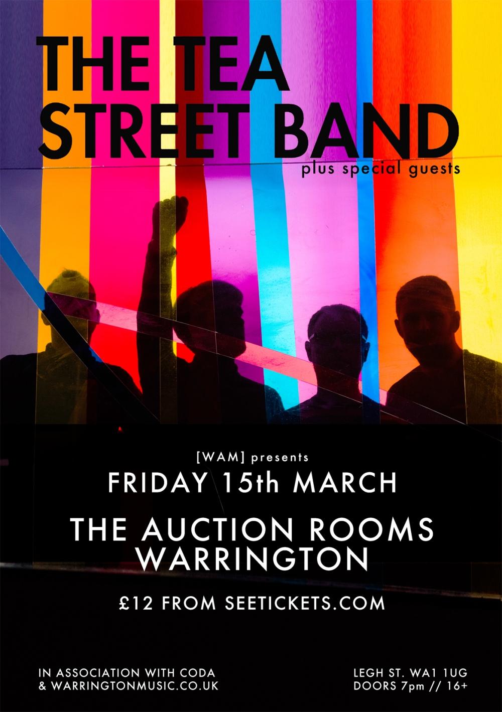 The Tea Street Band Warrington