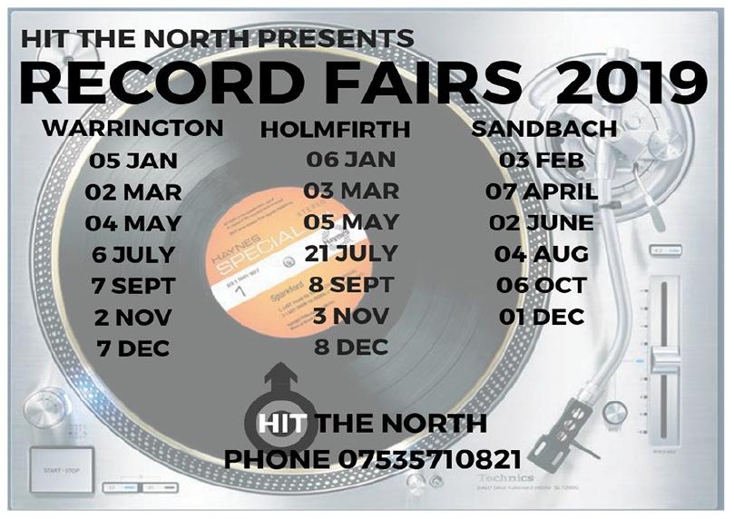 Warrington Record Fair