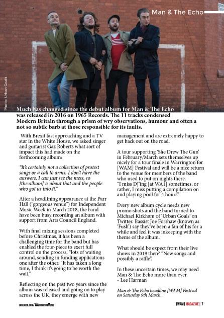 WAM Magazine Jan 19 Digital Spread7 Man & The Echo
