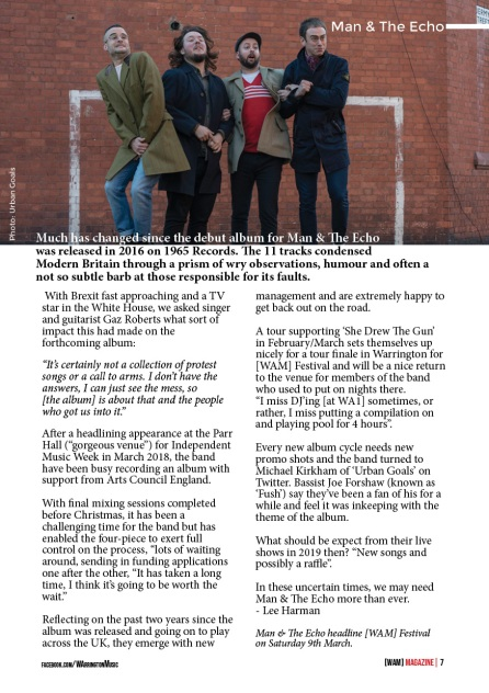 WAM Magazine Jan 19 Digital Spread7 Man & The Echo