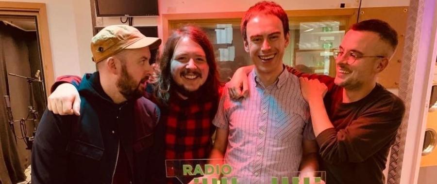 Man & The Echo at Radio X