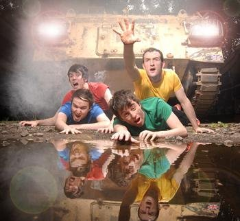 4ft Soldiers, well overdue a new band photo!
