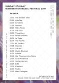 Sunday 5th May Warrington Music Festival fin
