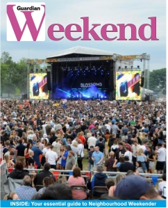 Guardian Weekend Front Cover