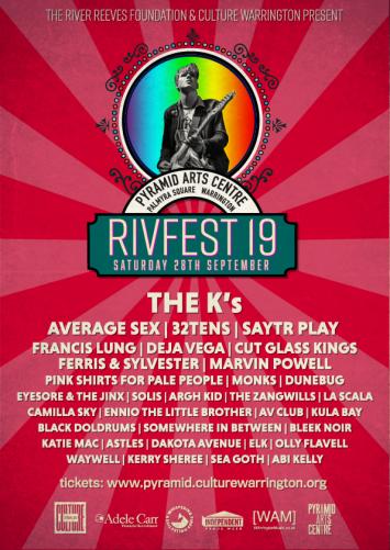 Rivfest 2019 Poster