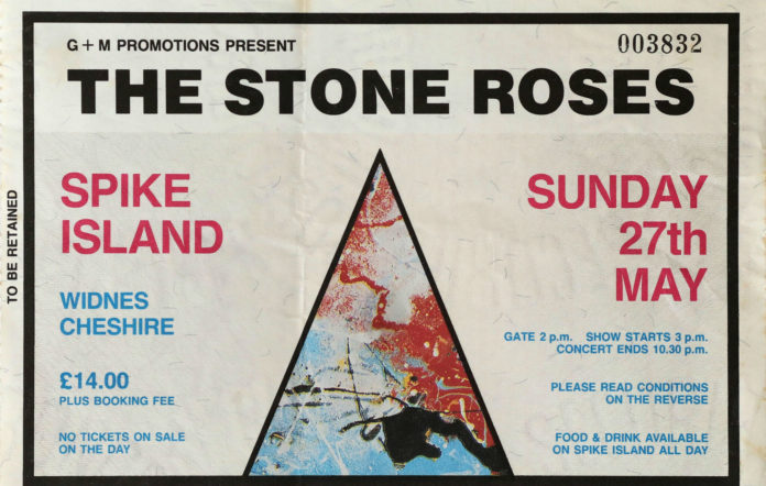 The Stone Roses played the classic gig in 1990