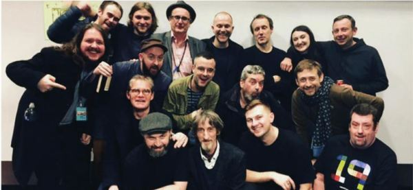 Man and the Echo with The Divine Comedy and crew